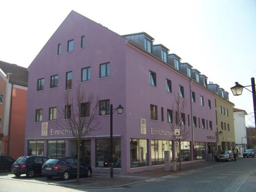 Hotel und Laden in Erding